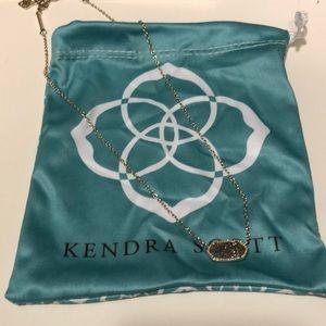 Jewelry - Platinum Drusy necklace